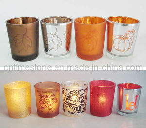 Glass Candle Holder (TM1520) pictures & photos