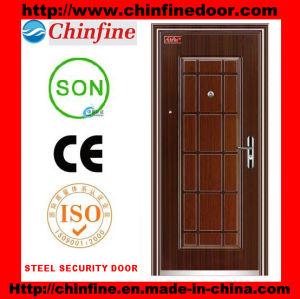 Morden Style Steel Door (CF-014) pictures & photos