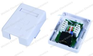 Cat5e RJ45 Surface Mount Box UTP, 1 Port pictures & photos
