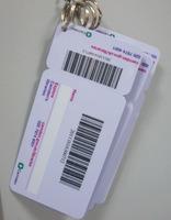 Plastic Hang Tag Card