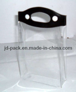 PVC Button Bag/ PVC Cosmetic Bag, China Cosmetic Bag with Handle pictures & photos