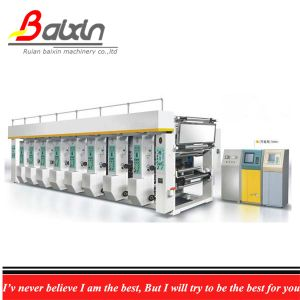 High Productivity Paper Gravure Printing Machine with Computer and Auto Regist pictures & photos
