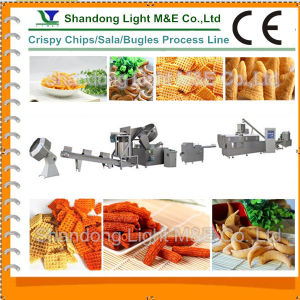 CE Certificate High Quality Automatic Sala Crispy Snacks Machine pictures & photos