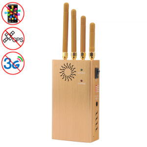GSM CDMA Dcs PCS 3G GPS High Power Portable Mobile Phone Signal Breaker Jammer Isolator pictures & photos