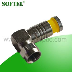 90 Degree Compression Connector RF Connector pictures & photos