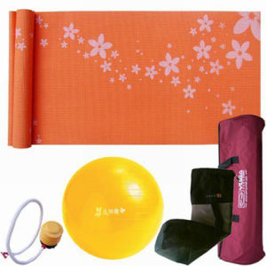 Yoga Set Including Mat and Ball (B16108) pictures & photos