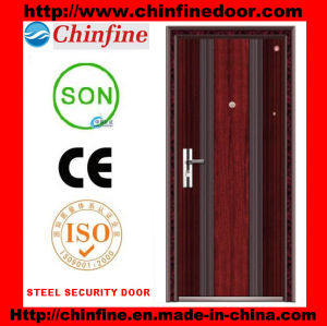 Steel Door with Low Price (CF-020) pictures & photos