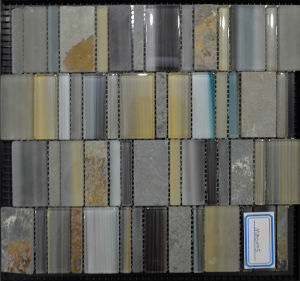 Luxury Style Glass Mosaic Tile in 2016 (MBS005)