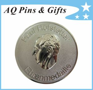3D Coin (Medallion) in Glitter, Gold Coin, Metal Coin pictures & photos