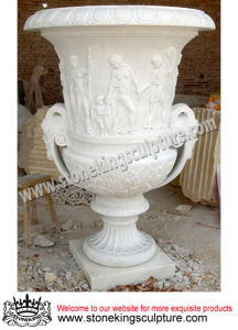 Marble Vase & Stone Vase, Marble Flowerpot & Marble Flower Vase pictures & photos