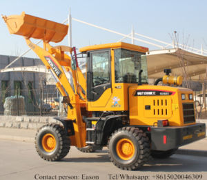 Small Front Articulated Wheel Loader pictures & photos