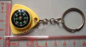 Promotion Compass Keychain #K-20-1 pictures & photos