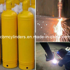 Welding Acetylene (C2H2) Gas Cylinders 40 Liter with Caps pictures & photos