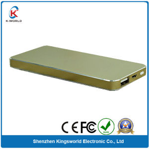 Ultra Thin Portable Power Bank 6000mAh pictures & photos