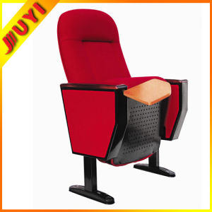 Hot Wooden Auditorium Chair Conference Chair with Mic Jy-605r pictures & photos