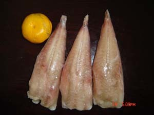 Frozen Monkfish Fillet, Monkfish Tail