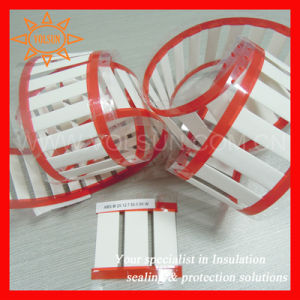 Heat-Shrinkable White Polyolefin Cable Marker Labels pictures & photos