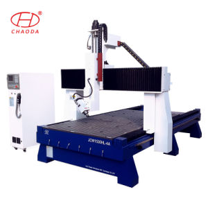 4 Axis CNC with 180 Degree Tilting Head for Mould Carving pictures & photos
