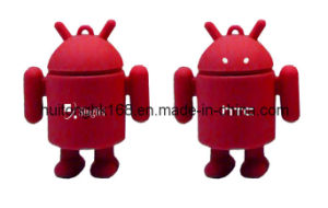 Android Robot Promotional USB Flash Drive 2.0