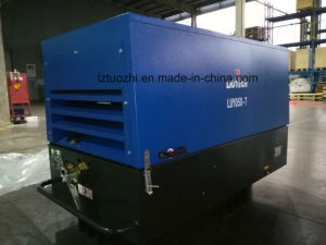 Atlas Copco Liutech 180cfm Skids Mounted Diesel Air Compressor pictures & photos