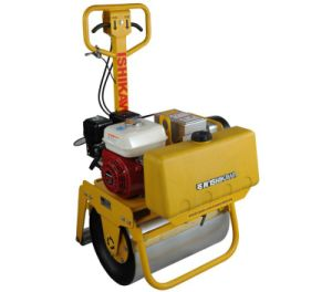 Walk Behind Steering Double Drum Roller Vibratory pictures & photos