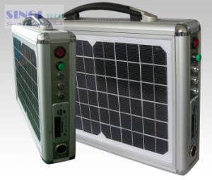 15W AC Output Portable Solar System pictures & photos