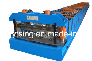 CE and ISO Authentication Metal Deck Production Line Roll Forming Machine (YD-0007)