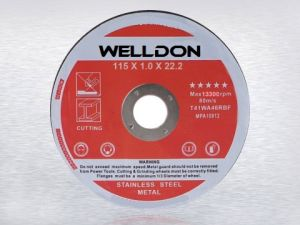for Aluminum and Non Ferrous Abrasive Cutting Wheel (WD-C004)