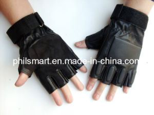 Fitness Leather Gym Gloves pictures & photos