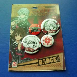Cartoon Offset Print Lapel Pin, Tin Badge (GZHY-OP-003) pictures & photos