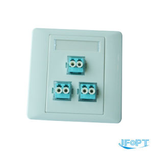 Ftth Faceplate (Socket), LC