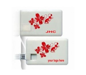 The Best Promotional Credit Card/ Business Card/ Name Card/ USB Flash Drive with Print Logo, USB Pen Drive