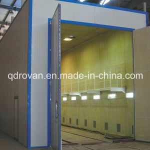 Foundry Castings Rust Prevention Pretreatment Sand Blasting Booth