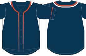 Plain Baseball Jersey Men