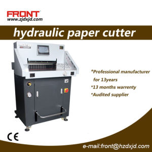 Hydraulic Paper Cutter (H520RT) 520mm Size pictures & photos