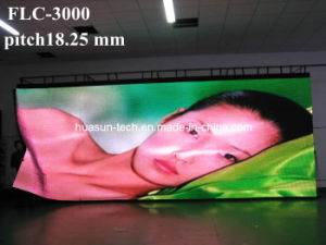 SMD5050 P18.25 OEM Curved Full Color LED Display pictures & photos