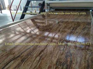PVC Imitation Marble Sheet Making Machine pictures & photos