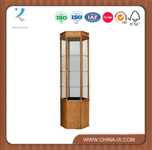Hexagon Tower Display Case with Storage Cabinet pictures & photos