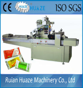 Paper Card Flow Wrapping Machine pictures & photos