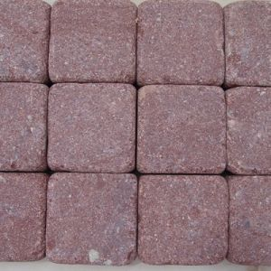 Flamed/Red Porphyry/Granite Cube Stone for Outdoor Paver/Block Paving/Paving Stones/Brick Pavers