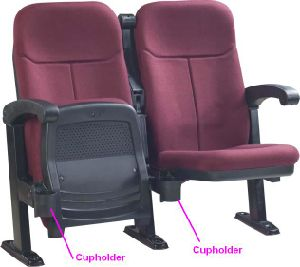Commercial Movie Theater Seating Cheap Commercial Cinema Chair (SPT) pictures & photos