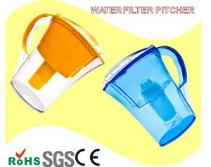 Long Lifespan Plastic Pitcher Water Filter Activated Carbon Pure Life Water pictures & photos