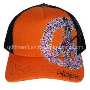 Good Shape Print Embroidery Snapback Mesh Trucker Cap (TRT037) pictures & photos