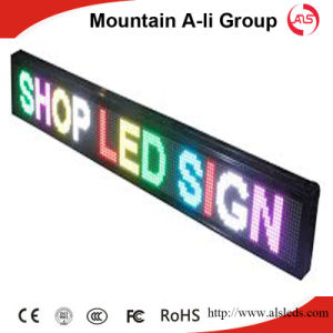 P10 Outdoor DIP LED Moving Sign for Advertising/Guide