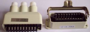 Rectangular Metal Shell Cheap Cost Connectors pictures & photos