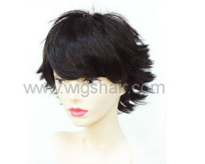 Short Curly Synhteitc Wig Kanekalon Fiber/ Heat Resistant Fiber pictures & photos