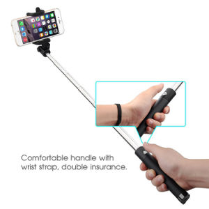 Selfie Stick with Built-in Bluetooth Remote Shutter for Samsung pictures & photos