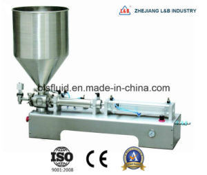 Sanitary Stainless Steel Paste Filling Machine pictures & photos