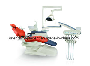 Ce Certification Dental Equipment Real Leather Dental Chair Unit pictures & photos