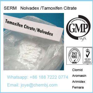 Tamoxifen Citrate Steroid Powder Tamoxifen Citrate/Nolvadex for Anti Estrogen pictures & photos